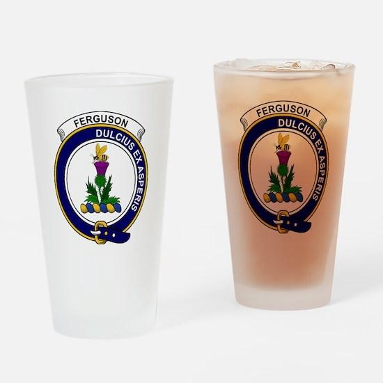 Ferguson Clan Badge Drinking Glass