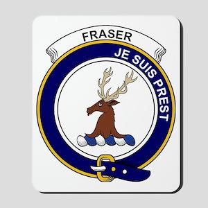 Fraser (of Lovat) Clan Badge Mousepad