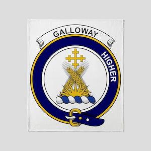 Galloway Clan Badge Throw Blanket
