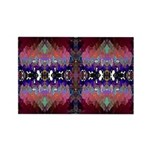 'Berry Bizarre' Rectangle Magnet