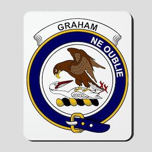 Graham Clan Badge Mousepad