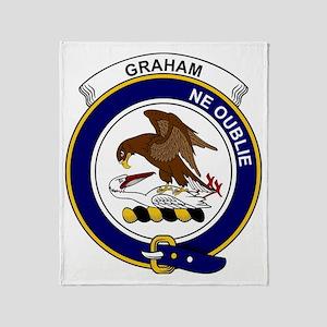 Graham Clan Badge Throw Blanket
