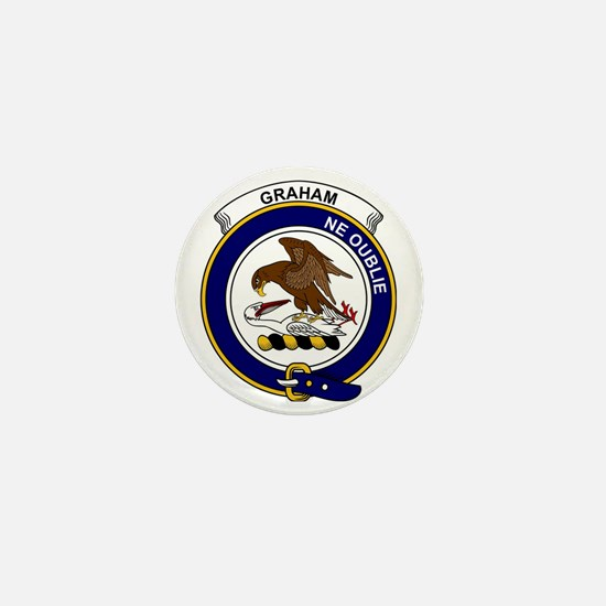 Graham Clan Badge Mini Button