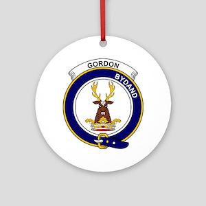 Gordon  Clan Badge Round Ornament