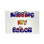 Missing My Sailor Rectangle Magnet