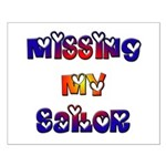 Missing My Sailor Small Poster