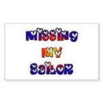 Missing My Sailor Rectangle Sticker