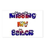 Missing My Sailor Postcards (Package of 8)