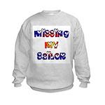 Missing My Sailor Kids Sweatshirt