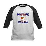 Missing My Sailor Kids Baseball Jersey
