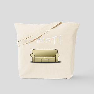 pivot white Tote Bag