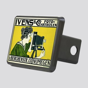 Vintage Camera Rectangular Hitch Cover