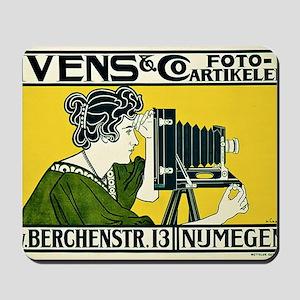 Vintage Camera Mousepad