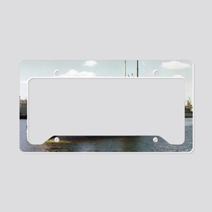 jadams framed panel print License Plate Holder