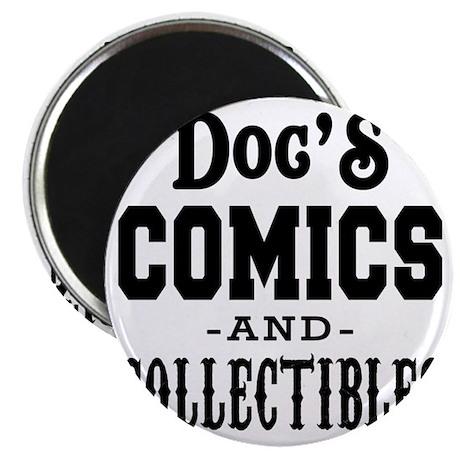 Docs-Comics-Thicker Magnet