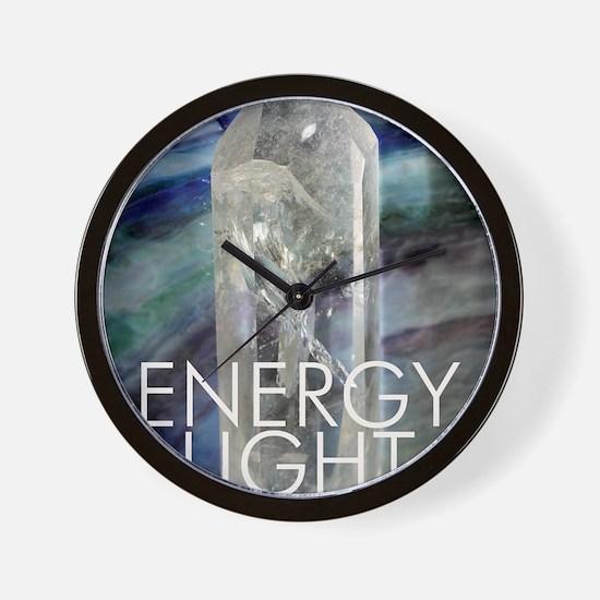 Energy Light Source Wall Clock