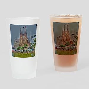Barcelona Drinking Glass