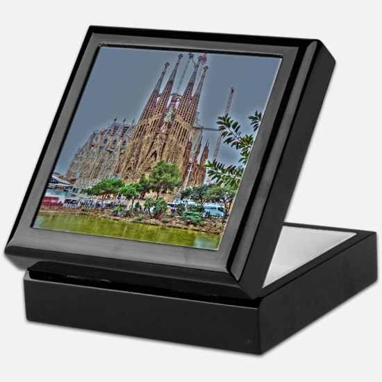 Barcelona Keepsake Box