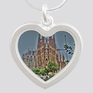 Barcelona Silver Heart Necklace