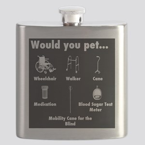 Would you pet... Flask