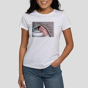 Toilet Easter Basket Women's T-Shirt
