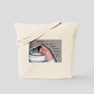 Toilet Easter Basket Tote Bag