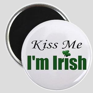 Kiss Me I'm Irish Refrigerator Magnet