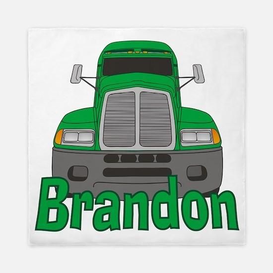 brandon-b-trucker Queen Duvet