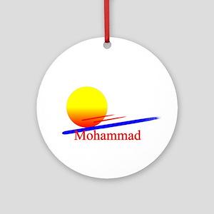 Mohammad Ornament (Round)