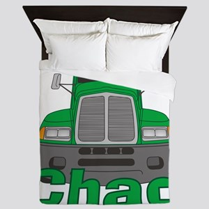chad-b-trucker Queen Duvet