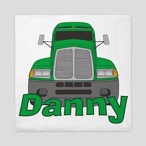 danny-b-trucker Queen Duvet