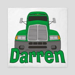 darren-b-trucker Queen Duvet