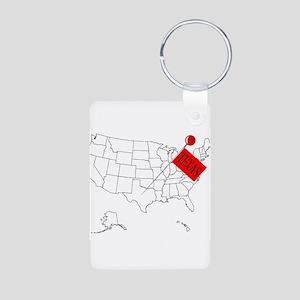 Knob Pin Texas Keychains