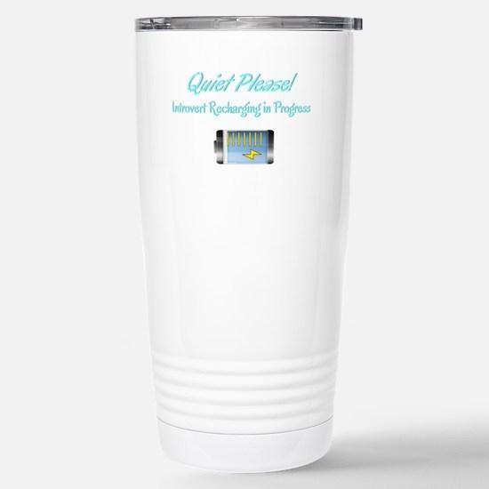 Quiet Please: Introvert Recharging Mugs