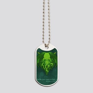 Cthulhu_vday_FRONT Dog Tags