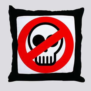 ghostbuster_logo_pocket Throw Pillow
