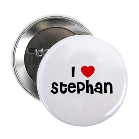 """I * Stephan 2.25"""" Button (10 pack)"""