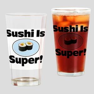 Sushi iphone Drinking Glass