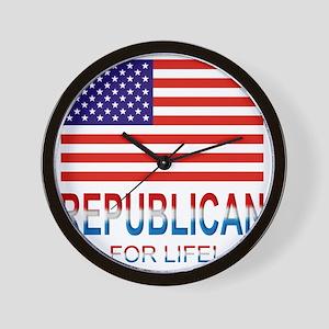 Republicanlife Wall Clock