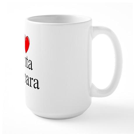 """""""I Love Santa Barbara"""" Large Mug"""