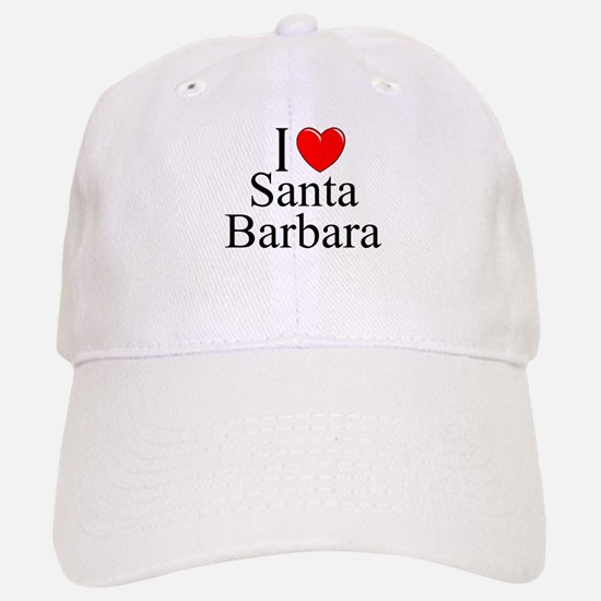 """I Love Santa Barbara"" Baseball Baseball Cap"