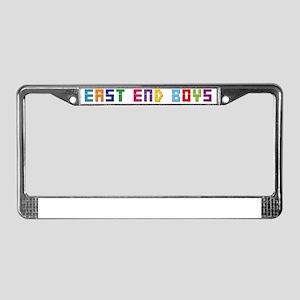 EastEndBoy License Plate Frame