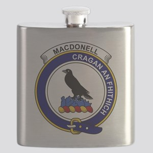 MacDonell (of Glengarry) Clan Badge Flask