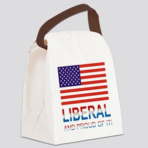 Liberalproud Canvas Lunch Bag