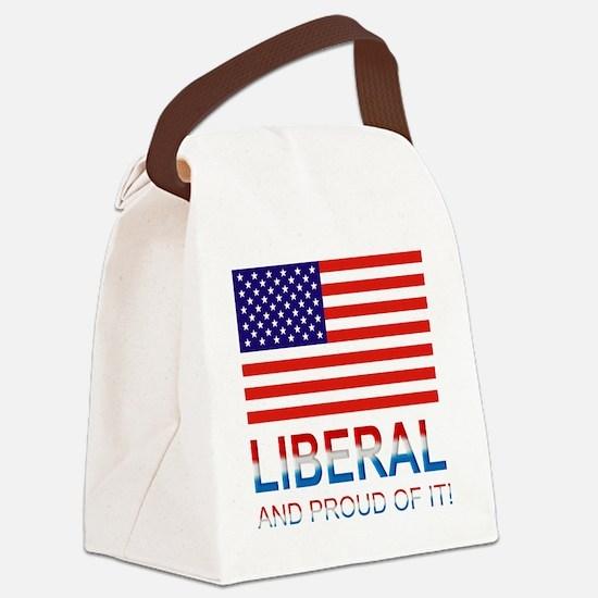 Liberalproud Canvas Lunch Bag