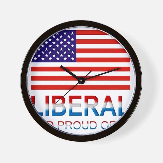 Liberalproud Wall Clock