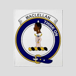 MacLellan Clan Badge Throw Blanket