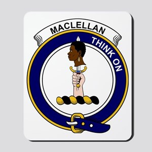 MacLellan Clan Badge Mousepad