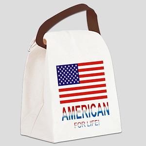 Americanlife Canvas Lunch Bag