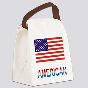 American Canvas Lunch Bag